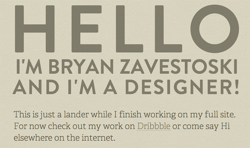 Web Design bryan-zavestoski