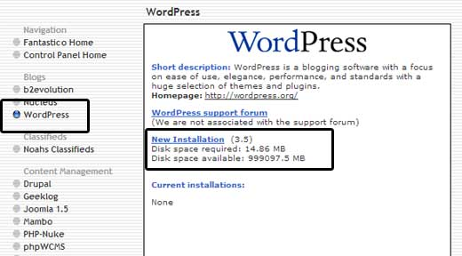 Wordpress inst 12