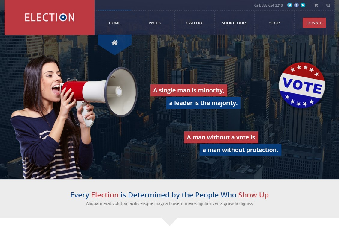 election-theme-wordpress