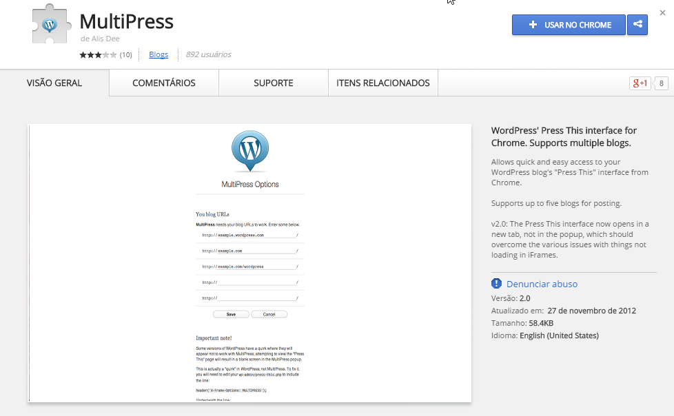 multipress-wordpress-chorme