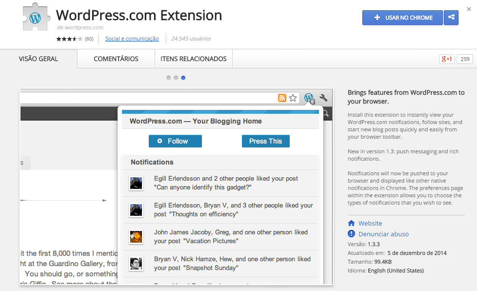 wordpresscom-extensao-chrome