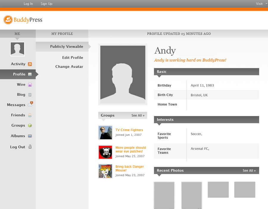 buddypress-screenshot-four