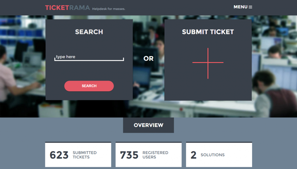 Ticketrama-helpdesk-wordpress