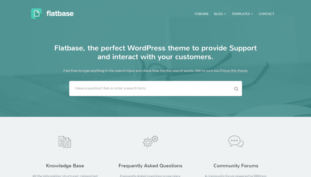 flatbase-helpdesk-wordpress