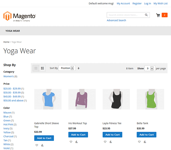 front-magento