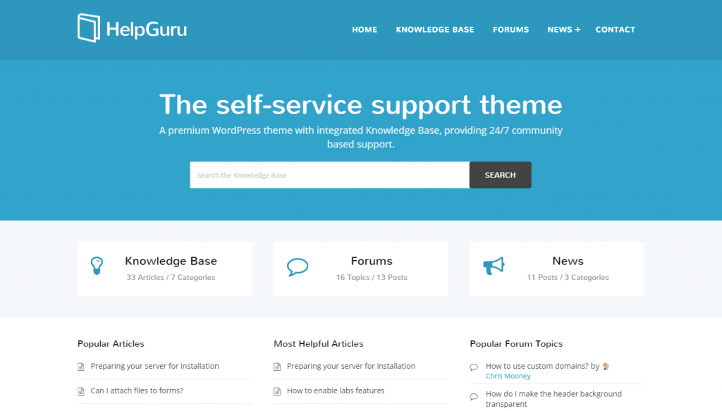 helpguru-helpdesk-wordpress