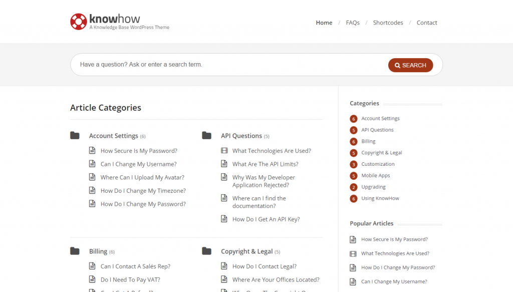 knowhow-helpdesk-wordpress
