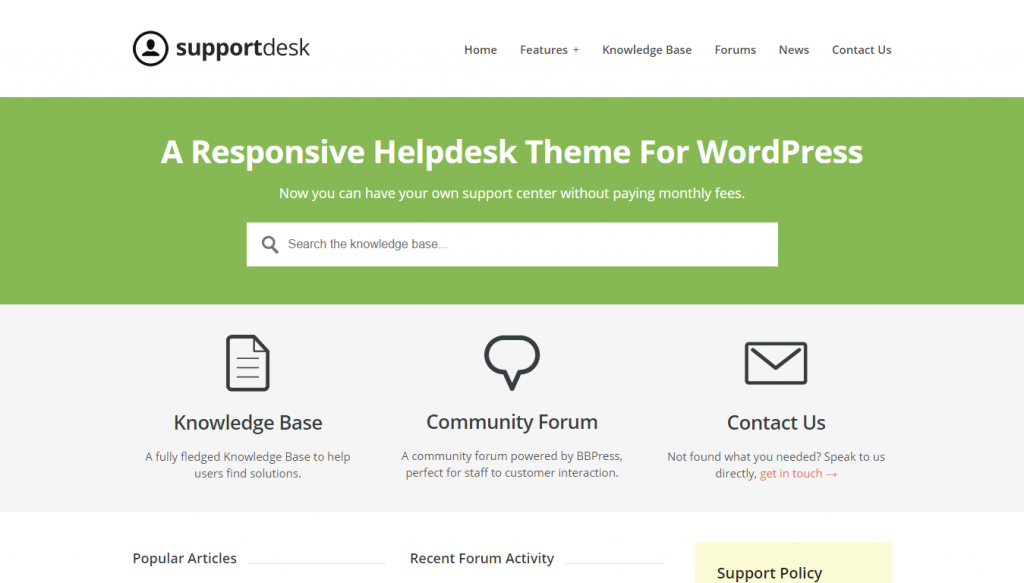supportdesk-helpdesk-wordpress