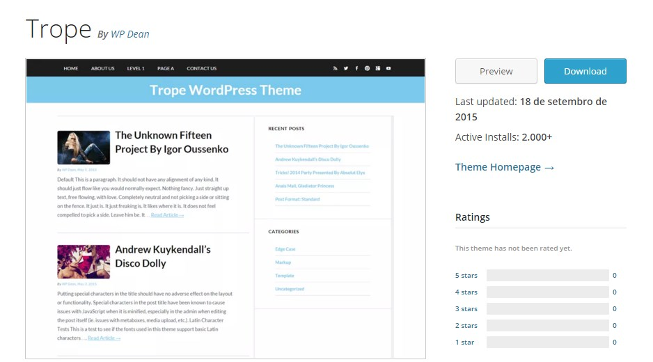 trope-wordpress