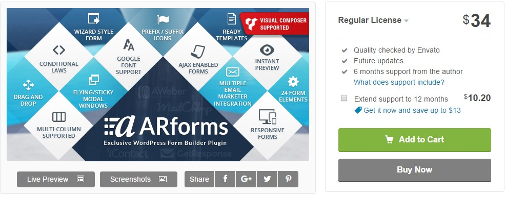 arforms-para-wordpress