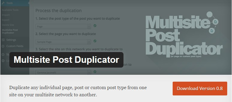 multisite-post-duplicator